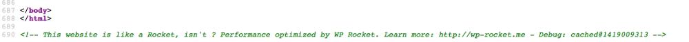 《如何查看wp-rocket已经加速网站》
