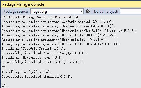 《Azure : 通过 SendGrid 发送邮件》